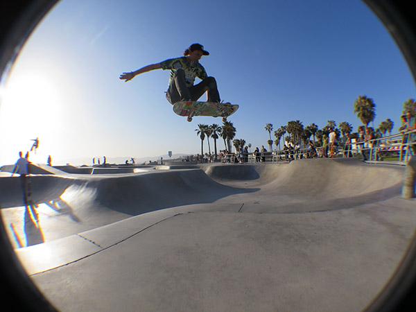 18 - JZ hip ollie. Venice Beach photo Shaysm