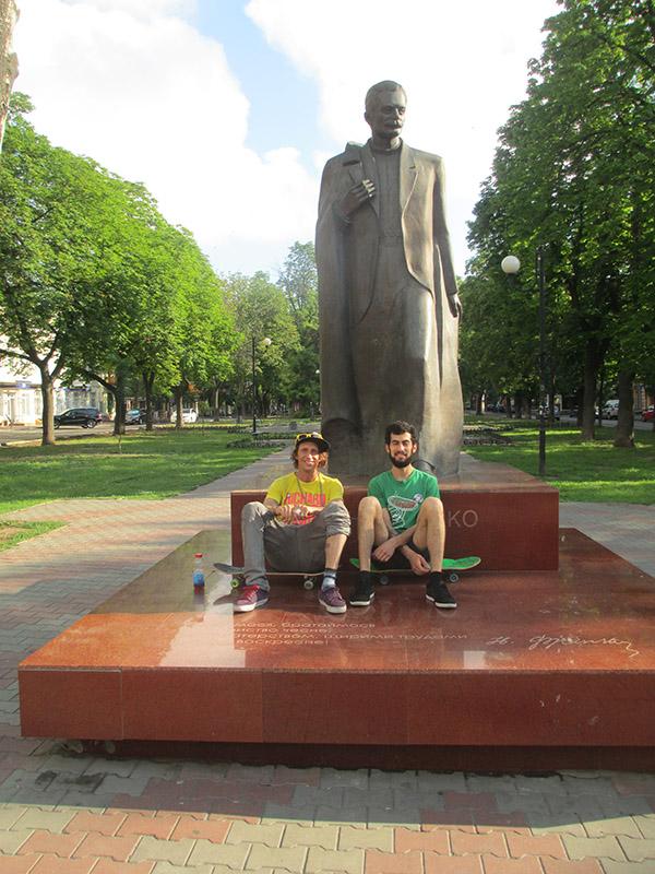 22 - JZ and Dava in Odessa, Ukrainesm