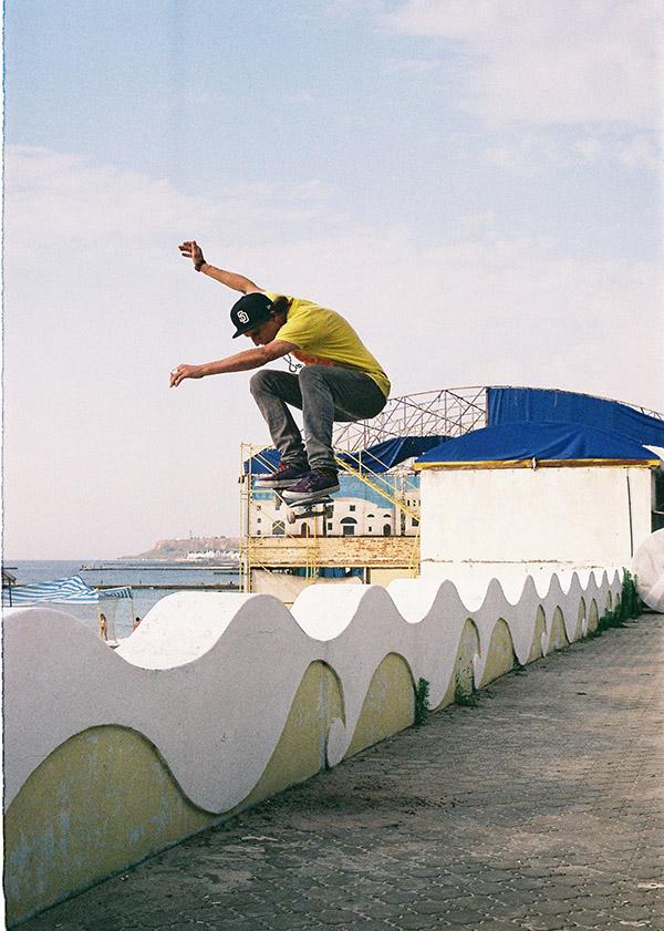 22 - JZ skating the wave in Odessa. Photo Davasm