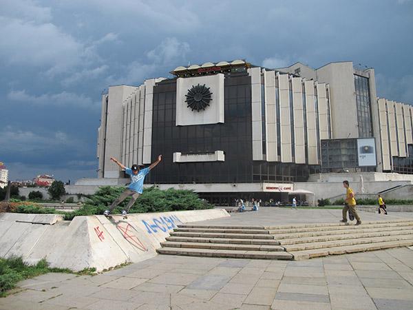 24 - JZ front tailslide in Sofia, Bulgariasm