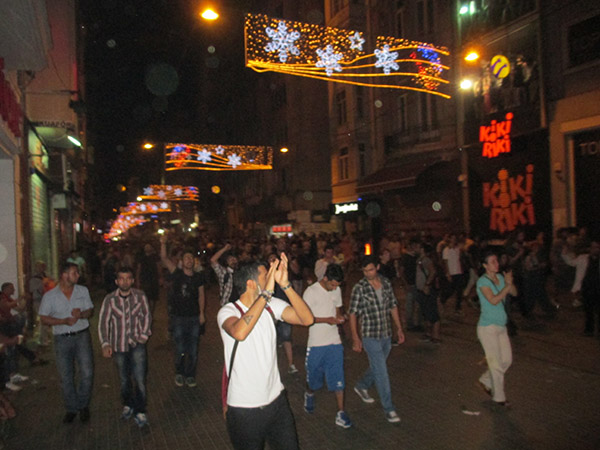 24 - Riots in Taxsim Square. Istanbul, Turkeysm