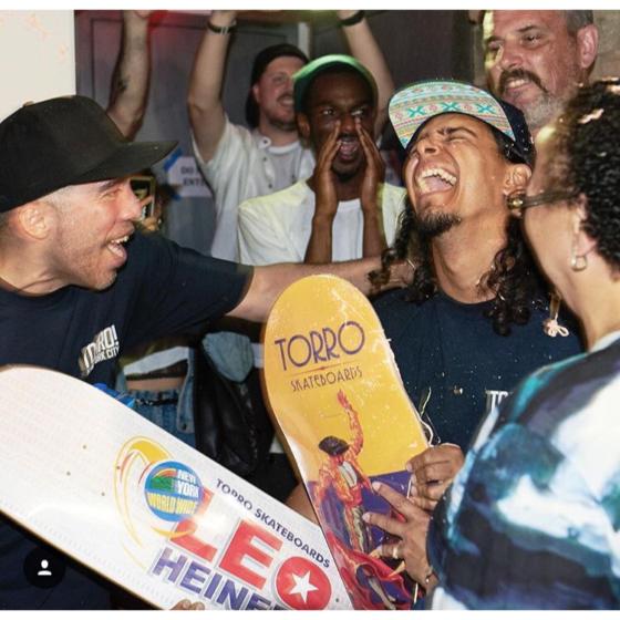 Leo Heinert turns pro for Torro Skateboards!!