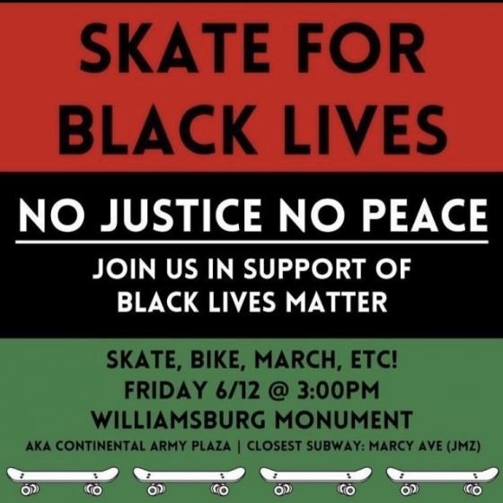Skate For Black Lives NYC